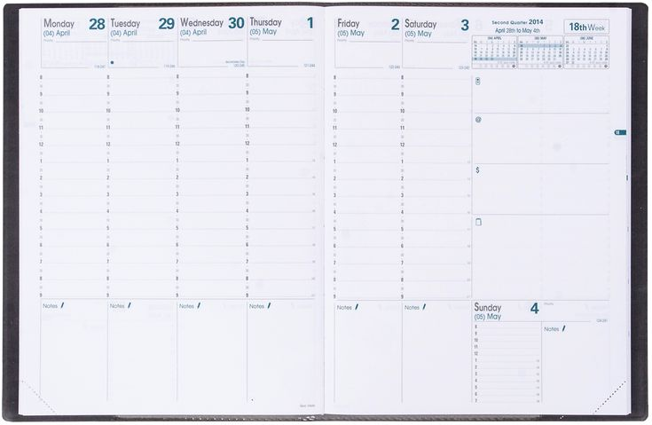 Weekly Planners » Great Planners and Notebooks » Quo Vadis Planners Has lots of sizes and formats