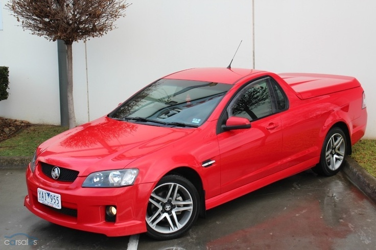 2009 HOLDEN UTE VE MY09.5 SV6