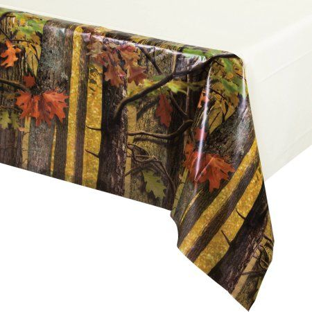 Hunting Camo Tablecover, Assorted