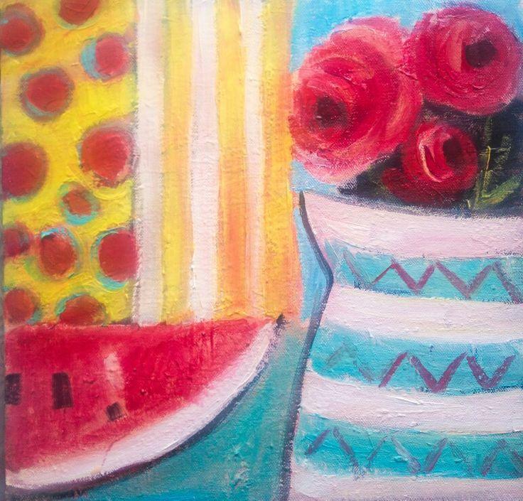 #Kobus#Małgorzata #painting #still #life