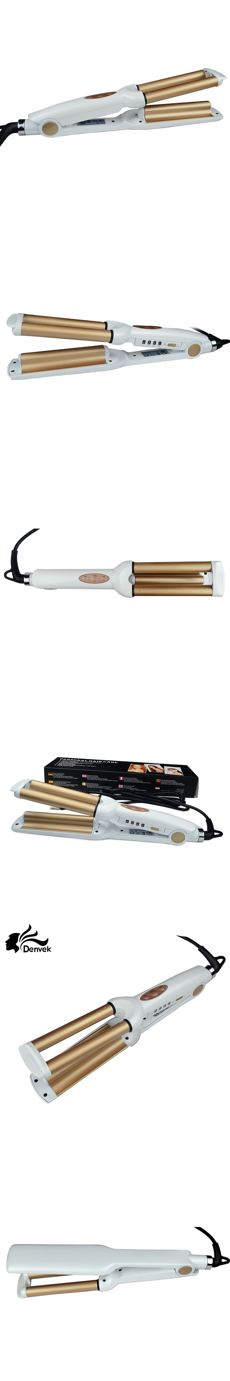 Professional curling iron 110-220V Hair Curling Iron Ceramic Triple Barrel Hair Curler Hair Waver Styling Tools Hair Style