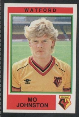 PANINI - FOOTBALL 85 - #342 - WATFORD - MO JOHNSTON