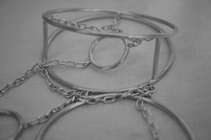 Teia: silver necklace to attend the Christmas Fair in Centro de Joalharia de Lisboa. http://www.imbu.pt/portfolio/teia-colar/