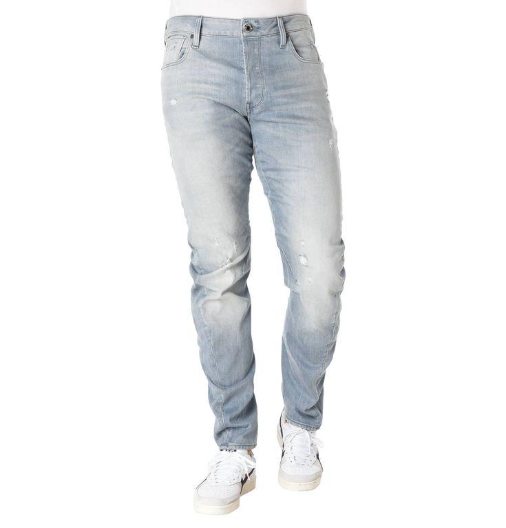 G-Star RAW Jeans, Slim Fit, Destroyed-Details, Waschungen