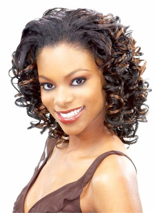 short curly half wigs for black women