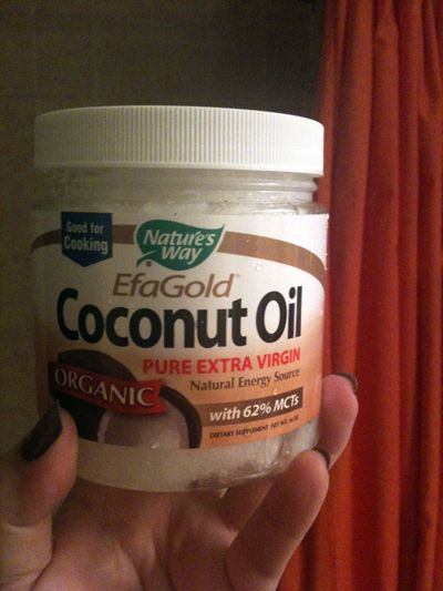 Coconut oil gets rid of Keratosis Pilaris (tiny bumps on the back of upper arms and backs of thighs) It is an amazing product for Deoderant, moisturizer and many many other things :)??? Really?