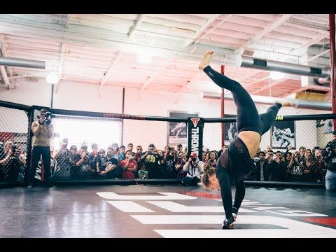 UFC 184: Ronda Rousey Open Workout Highlights - YouTube  My motivation to hit it even harder at the gym!!