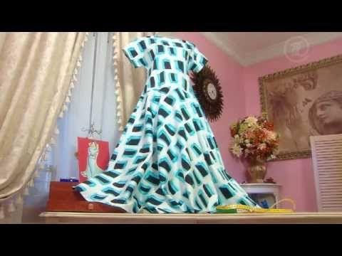 Платье из ситца   Ольга Никишичева-шить легко