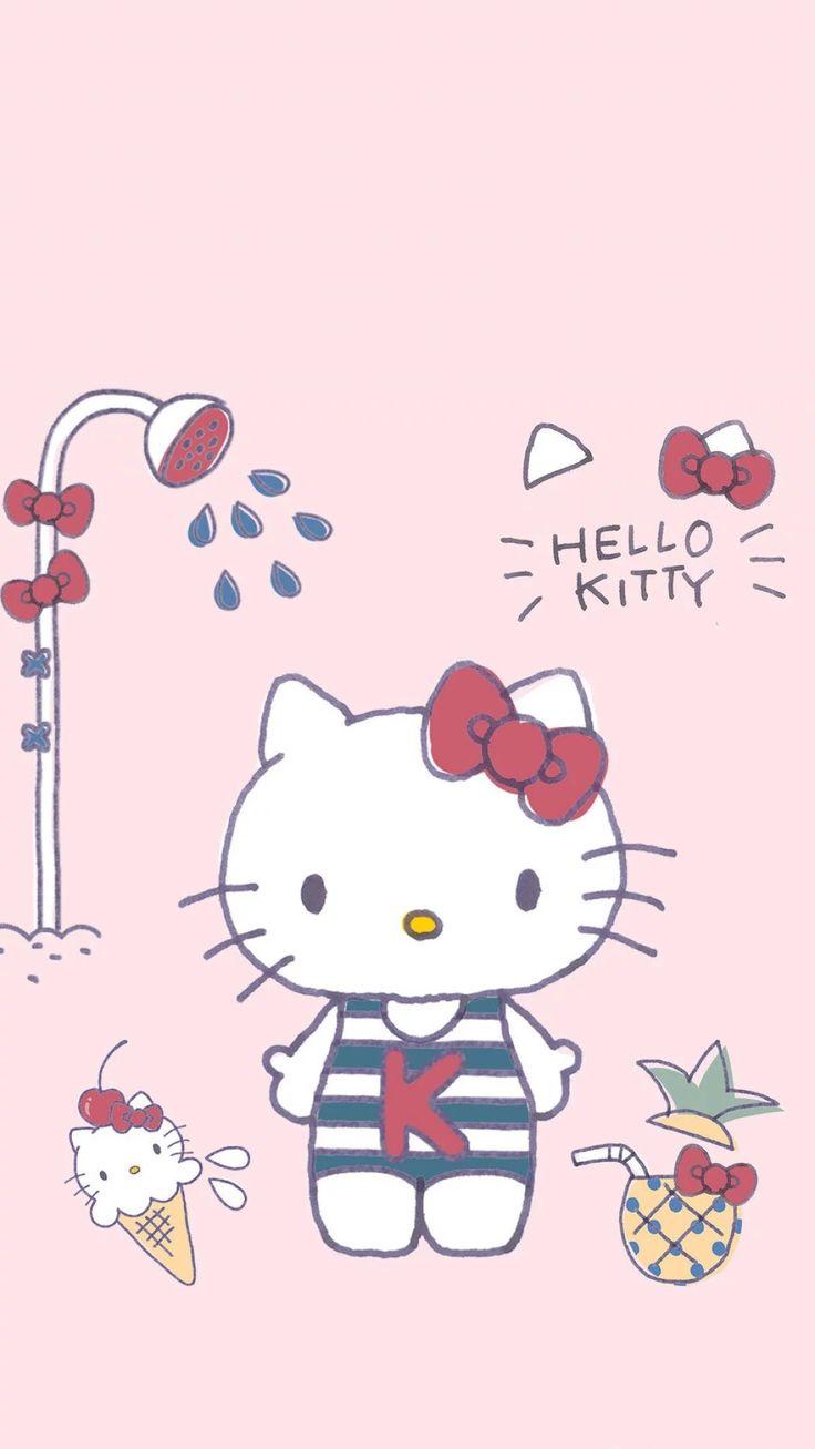 Most Inspiring Wallpaper Hello Kitty Sakura - a4bff226a74c69c1fcdecb19be5920a4--hello-kitty-walls  Image_604444.jpg