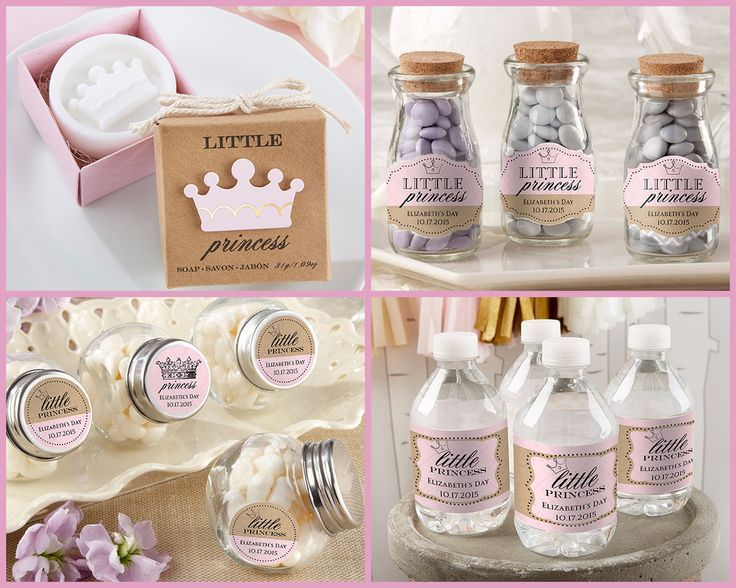 New Little Princess Baby Shower And Birthday Party Favors From HotRef.com  #littleprincess #
