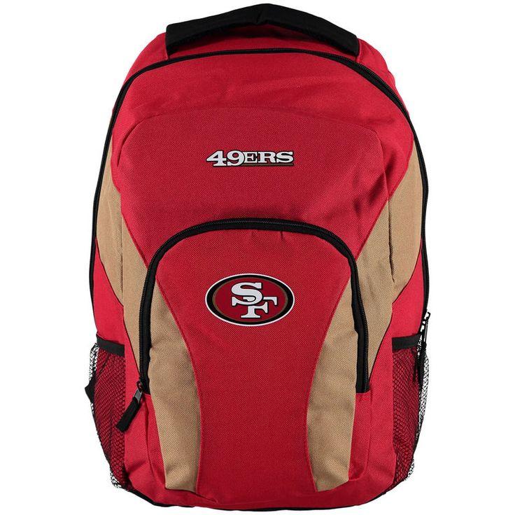 San Francisco 49ers Draft Day Backpack - Scarlet