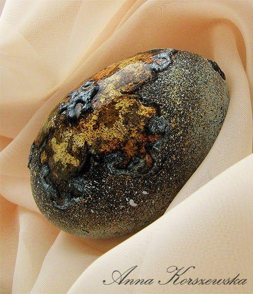 Manualnie.pl: DIY - Pisanka Gold Flower