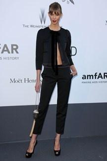 Karlie Kloss in Louis Vuitton  #amfAR Cinema Against AIDS Gala 2013 in #Cannes2013 #Fashion