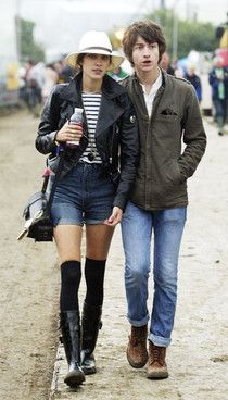 Alex and Alexa in Glastonbury 2008 Maybe my favorite couple?