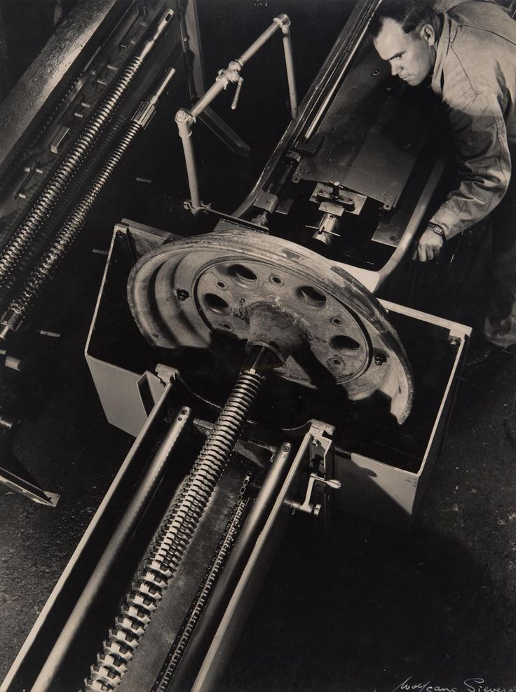 WOLFGANG SIEVERS (1913-2007), Machinist, c.1967