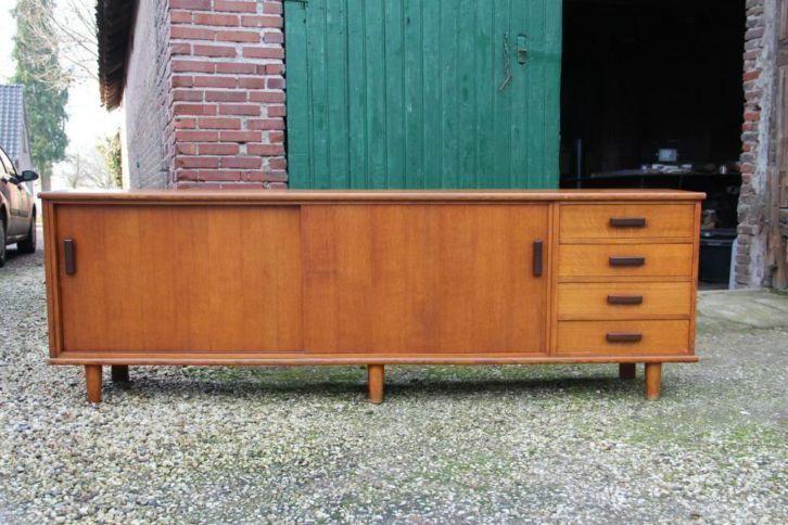 Retro dressoir vintage design sixties kast tv-meubel Pastoe