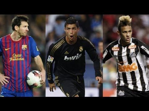 Cristiano Ronaldo Vs Lionel Messi Vs Neymar 2013 HD | Mees ...