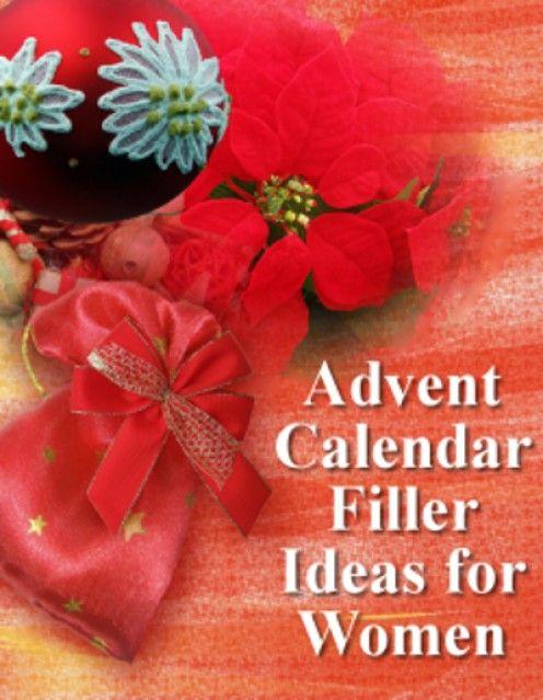Advent Calendar Refill Ideas : Advent calendar filler ideas and inspiration for women
