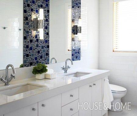 Modern Mediterranean Bathroom | Photo Gallery: Jennifer Worts Interiors | House & Home | Photo by Ted Yarwood