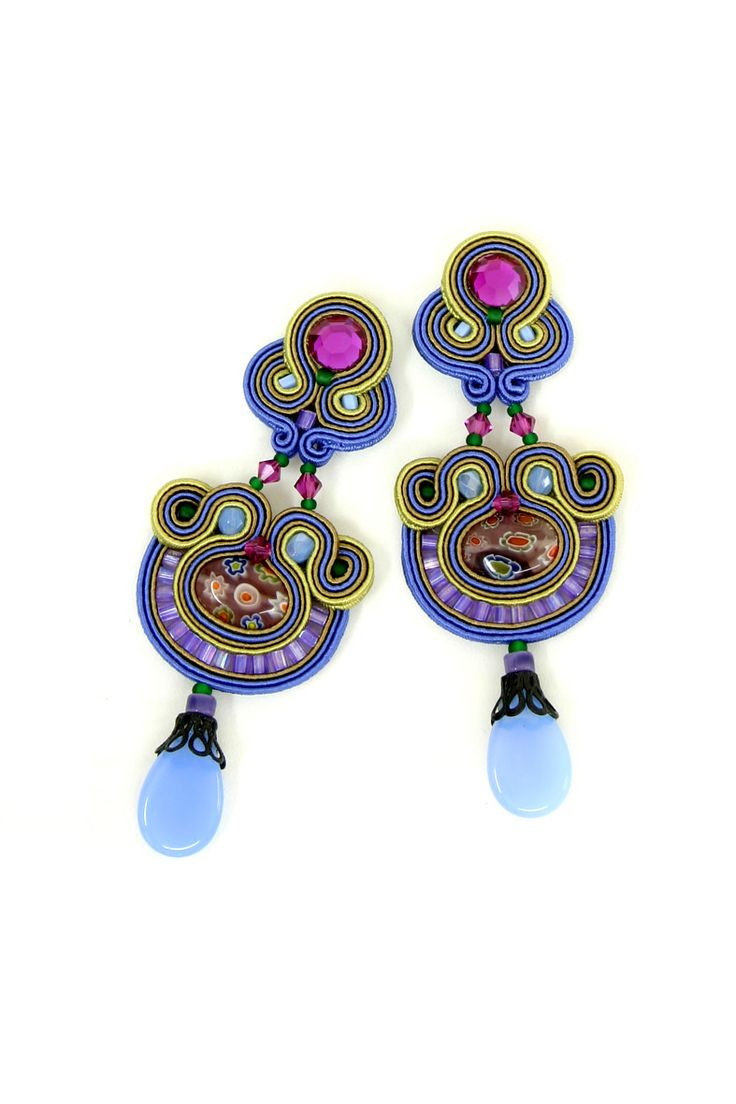 earrings : Iris