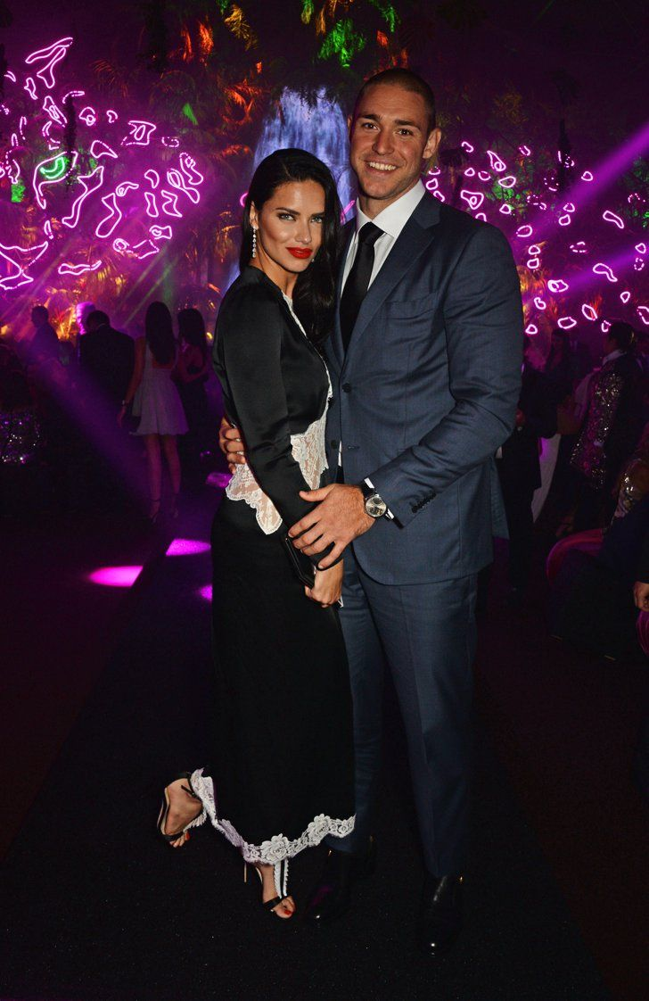 Pin for Later: Adriana Lima and Her Boyfriend Are Just Too Cute For Words in Cannes