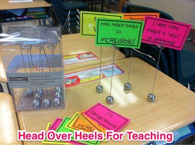 Spark Student Motivation: Desk Toppers