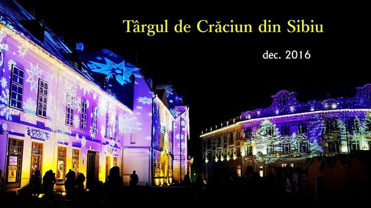 Targul de Craciun din Sibiu - decembrie 2016 - filmare cu Galaxy S7 si D...