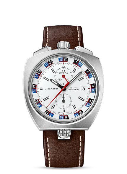 Relojes OMEGA: Seamaster Bullhead Co-Axial Chronograph 43 x 43mm - Acero con Pulsera de piel - 225.12.43.50.04.001