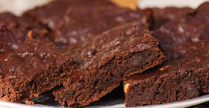 These are extra-moist brownies that are whole grain and have no added oil. The nut butter and applesauce give it a fudge-like texture for an extra-special chocolate treat.