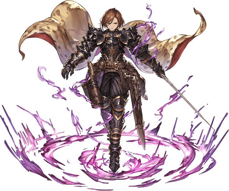 Granblue Fantasy - Black Knight (Apolonia)