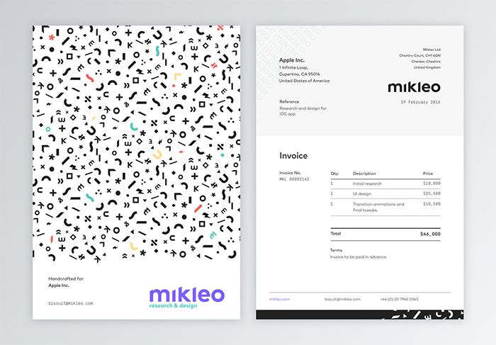 30 best Invoice / receipt images on Pinterest Invoice design - invoice designs