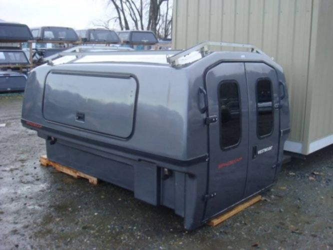 New and Used Truck Canopies   sweet   Truck bed camper, Truck camper