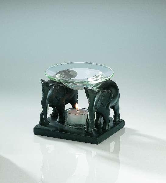 Brûle parfum éléphants