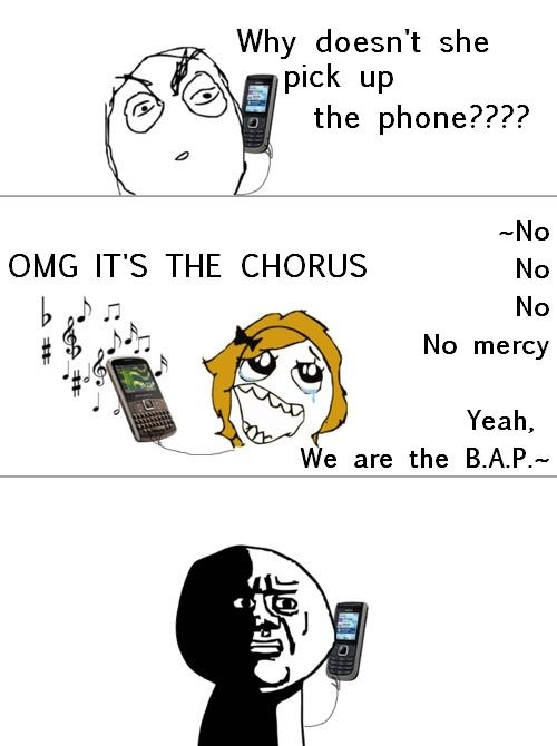 K-pop ringtone  -true except it's big bang Fantastic Baby for me  --SHINee for me!