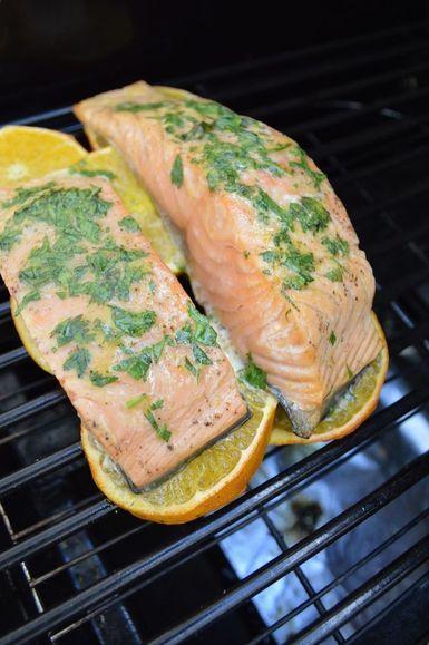 Salmon-a-la-naranja.JPG - Foto (C) Pizca de Sabor de Karla P. Hernández