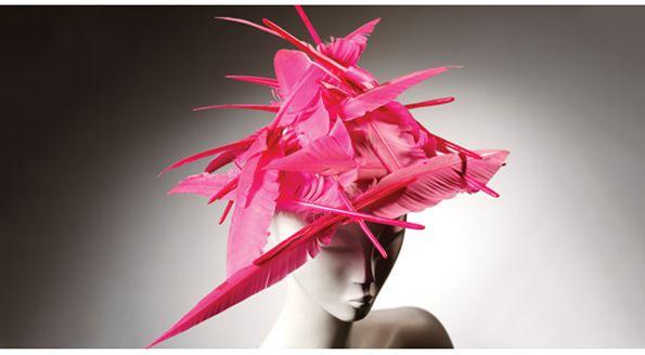 Philip Treacy, Feather Hat, 1995 via pem.org #Hats #Feather_Hat #Philip_Treacy #pem_org