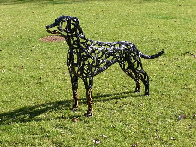 Tom hill sculpture doberman art pinterest for Shoe sculpture ideas