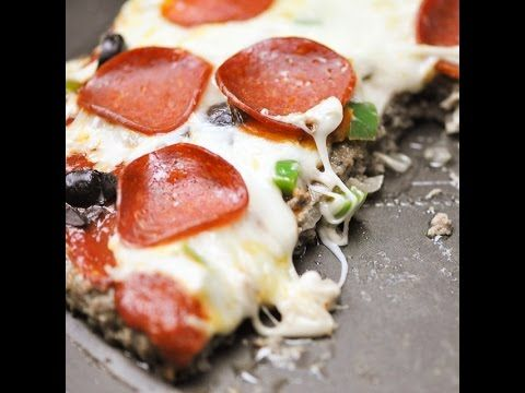 beef as the crust ??? Amazing. Gluten free. Meat Lovers Pizza – Food Dolls