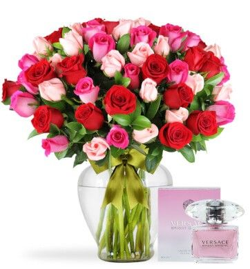 Mi Gran Dulce Corazón con Perfume Versace