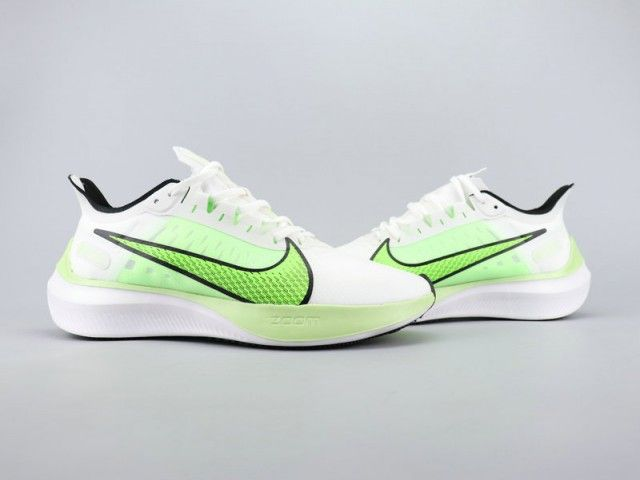 Nike Zoom Gravity Lime Green White Unisex Running Shoes Running Shoes Nike Zoom Running Shoes For Men