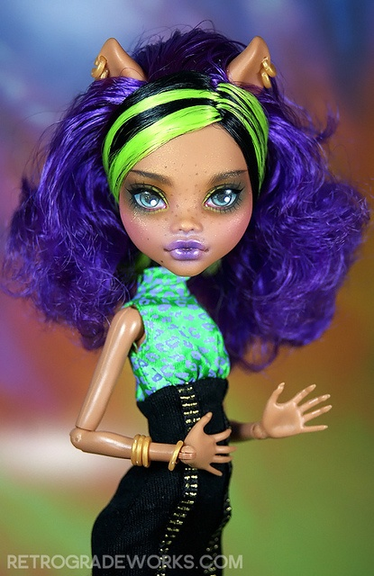 Custom Monster High Repaint Sabrina by Retrograde Works, LLC, via Flickr Monster High Repaint www.retrogradeworks.com