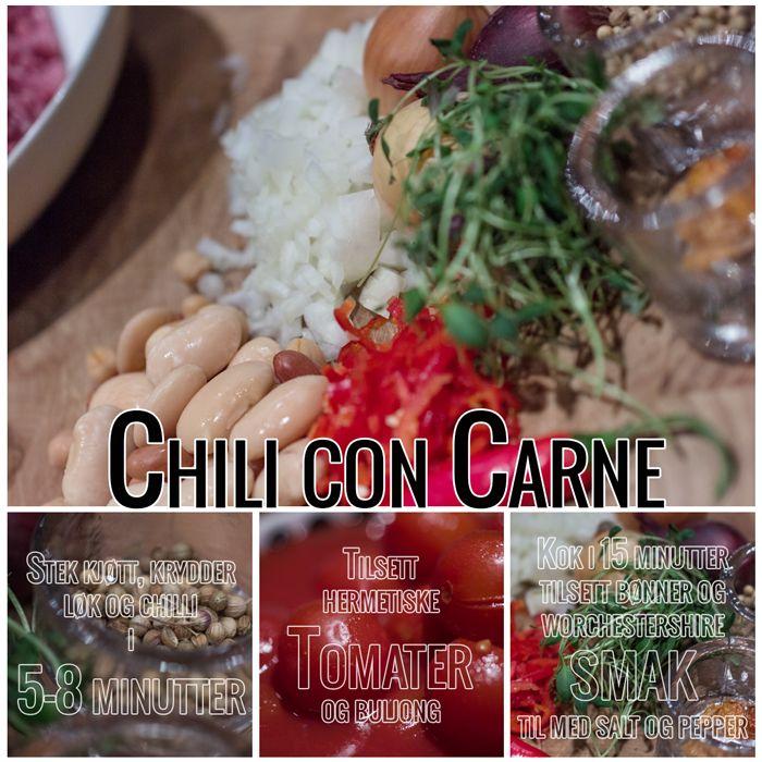 Chili con Carne - Hverdag og fest