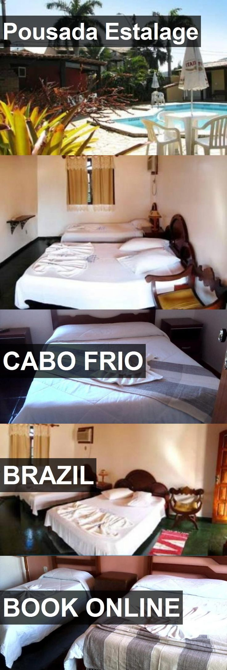 Hotel Pousada Estalage in Cabo Frio, Brazil. For more information, photos, reviews and best prices please follow the link. #Brazil #CaboFrio #travel #vacation #hotel