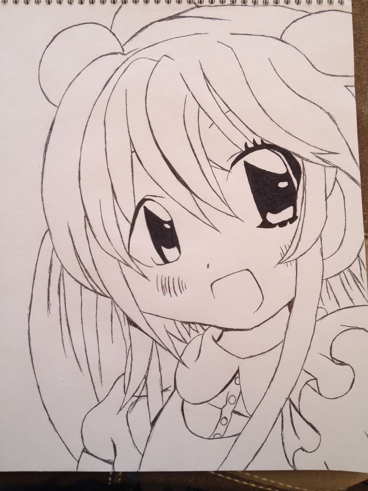I drew Rin Kokonoe today - Kodomo No Jikan