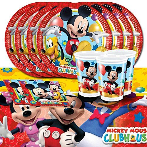 Mickey Mouse kit de fête d'anniversaire pour 16 Party Sho... https://www.amazon.fr/dp/B00JKK0IQ2/ref=cm_sw_r_pi_dp_Q1FhxbK9YEHBF
