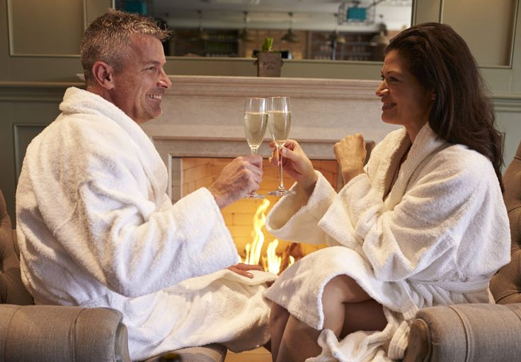 Couple Wearing Robes Relaxing On Hotel Spa Break by Guerilla Images on 500px