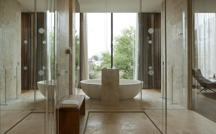 #ConservatoriumHotel #luxuryhotel #hotel #spa #bathrooms #suites #hospitality #Amsterdam #marble #stone #bathtubes