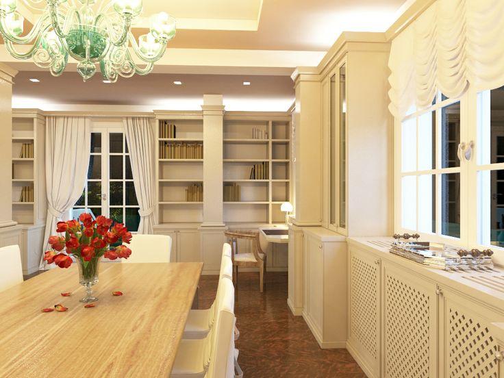 living & dining room level 0  - Massimo Rinaldo architetto