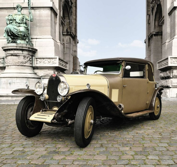 1927 Bugatti Type 44 Maintenance/restoration of old/vintage vehicles: the material for new cogs/casters/gears/pads could be cast polyamide which I (Cast polyamide) can produce. My contact: tatjana.alic@windowslive.com