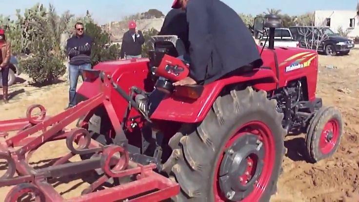 Mahindra tractor demo Tunisia